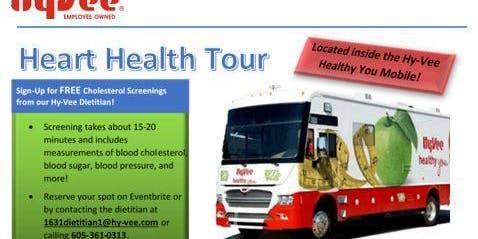Free Cholesterol Screenings at Hy-Vee