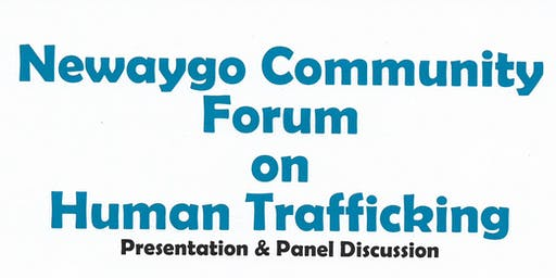 Newaygo Community Forum on Human Trafficking