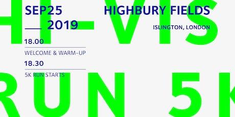 HI-VIS Run tickets