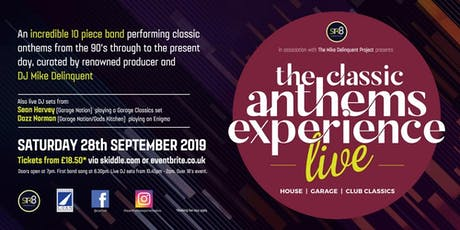 The Classic Anthems Experience Live tickets