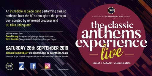 The Classic Anthems Experience Live