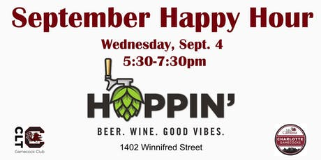 CLT Gamecocks September Happy Hour - South End tickets