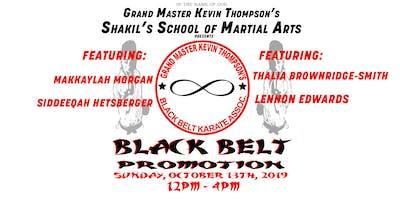 The Black Belt Promotion 2019