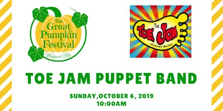Toe Jam Puppet Band - The Great Pumpkin Festival, Westport tickets