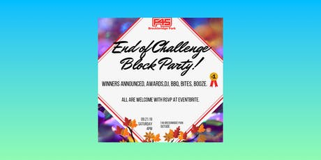 F45 Breckinridge Park's  End Of Challenge Block Party & Member Social tickets