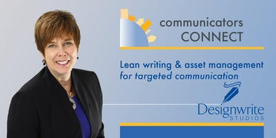 Lean writing and asset management  for targeted communication