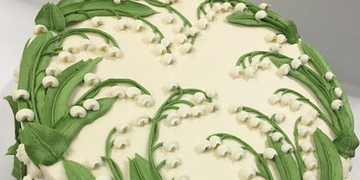 Lily of the valley cake class
