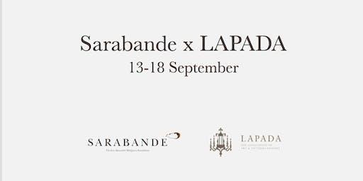 Sarabande x LAPADA Fair