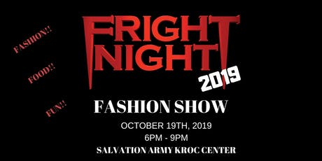 4th Annual Fright Night Fashion Show tickets