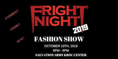 4th Annual Fright Night Fashion Show tickets