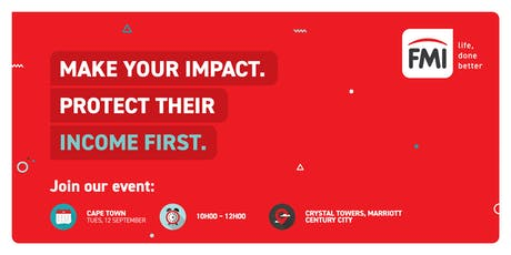 FMI's Income First Event | Cape Town tickets