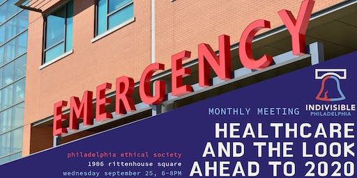 September Monthly Meeting: Healthcare And The Look Ahead To 2020