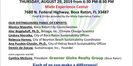 FLOODING, SEAWEED AND CLIMATE CHANGE tickets