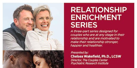 Relationship Enrichment Series 2019  (September 28, October 7 and 14) tickets