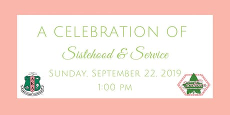 Celebration of Sisterhood and Service tickets