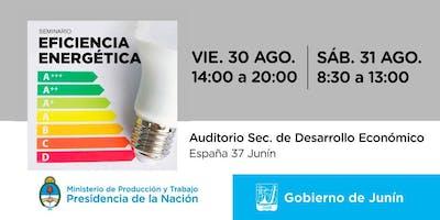 Seminario de Eficiencia Energética- Ciudades para Emprender Junín