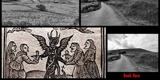 THE HALLOWEEN PENDLE WITCHES INTERACTIVE GHOST WALK 9.00pm 25/10/2019