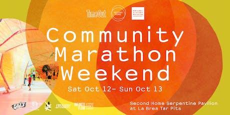 Community Marathon Weekend tickets