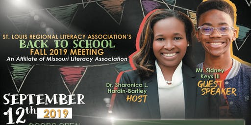 St. Louis Regional Literacy Association Fall 2019 Meeting
