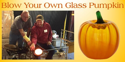 Blow Your Own Glass Pumpkin - Saturday, September 21 at 10:00am