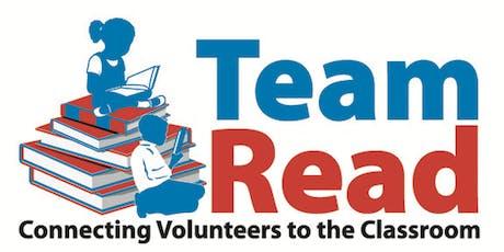 Team Read Volunteer Orientation Training tickets