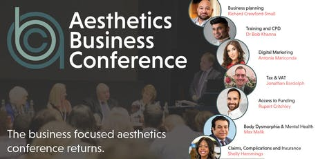 Aesthetics Business Conference 2019 tickets
