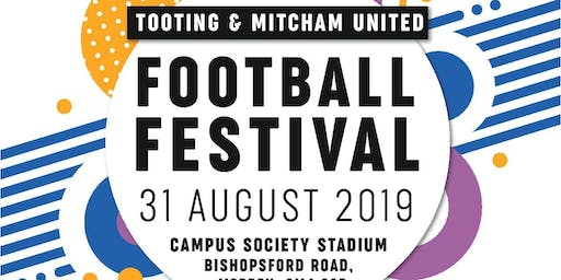 Tooting & Mitcham's Football Festival