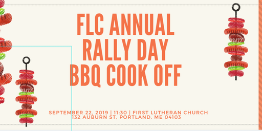 First Lutheran 1st Annual BBQ Cook-off!