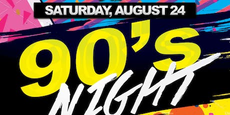 90s Party @ The Greatest Bar Saturday's tickets