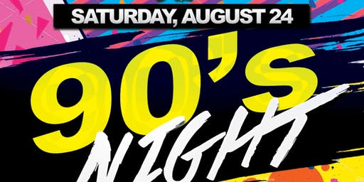 90s Party @ The Greatest Bar Saturday's