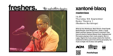 MASTERCLASS: Xantone Blaq  - Life as a Working Musician tickets