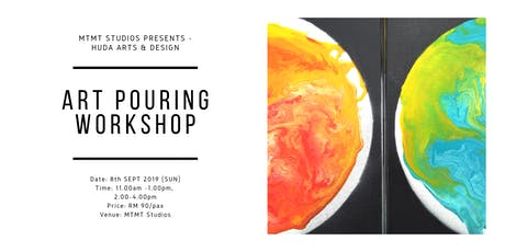 Art Pouring Workshop tickets
