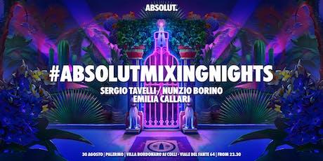 #AbsolutMixingNights Palermo biglietti