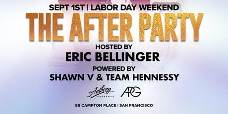 THE AFTER PARTY W/ERIC BELLINGER tickets
