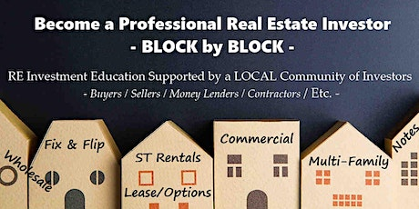 Online Event: Professional Real Estate Investor Education & Community (N) tickets