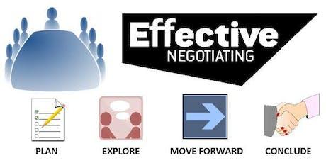 Effective Negotiating tickets