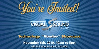 "Visual Sound Technology ""Vendor"" Showcase"