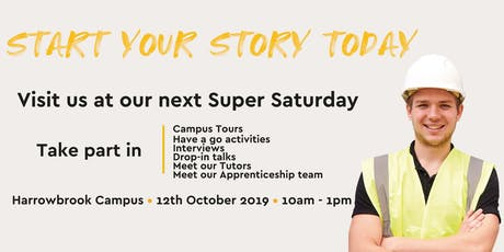 Harrowbrook Campus Super Saturday tickets