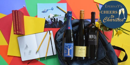 CHEERS TO CHARITIES: BACK TO SCHOOL SIPS