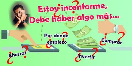 Estoy inconforme, ¿cómo generar ingresos extra si no tengo tiempo o dinero? boletos