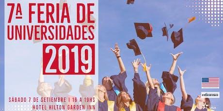 Feria EducationUSA 2019 - Montevideo entradas