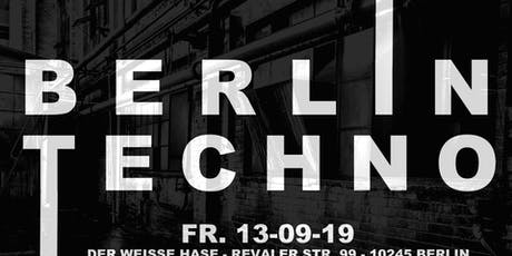 Berlin Techno I Rave I Clubbing I Dance  Tickets