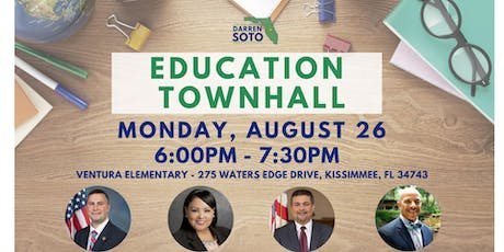 Education Town Hall in Kissimmee tickets