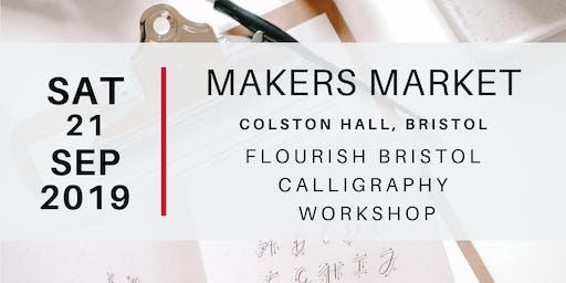 Flourish Bristol, Calligraphy Workshop
