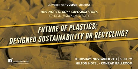 Future of Plastics: Designed Sustainability or Recycling?  tickets