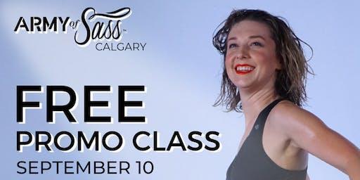 Army of Sass Calgary FREE Sass Class
