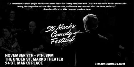 St. Marks Comedy Festival: November 7th - 9th tickets