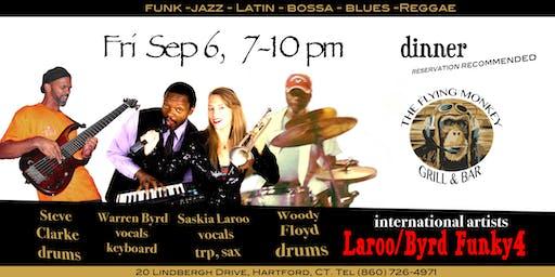 Late Summer dinner w Duo Laroo/Byrd Funky4