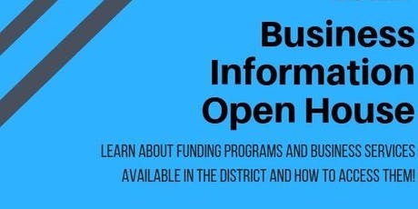 Business Information Open House tickets
