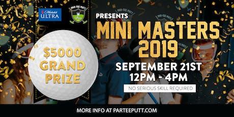 Mini Masters tickets